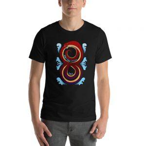 """""""Endless Serpent"""" Short-Sleeve Unisex T-Shirt"""